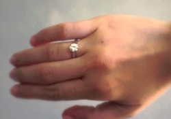 Danhov CL116 Engagement Ring with a 1.00 Carat Diamond