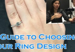 A Guide to Choosing your Diamond Engagement Ring Design |Classic Solitaire, Pave, 4 or 6 Prongs|