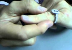 Taking Off a Diamond Engagement Ring